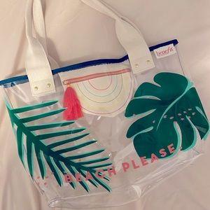 NWOT- Benefit - Beach Please Beach Bag